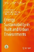 Cover-Bild zu Energy Sustainability in Built and Urban Environments (eBook) von Agarwal, Avinash Kumar (Hrsg.)