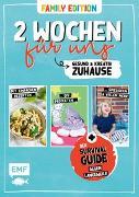 Cover-Bild zu 2 Wochen für uns - Gesund und kreativ zuhause (Family Edition) von Kauth, Daniel