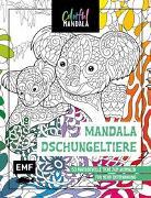 Cover-Bild zu Colorful Mandala - Mandala - Dschungeltiere