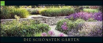 Cover-Bild zu GEO SAISON: Die schönsten Gärten 2022 - Panorama-Kalender - Wand-Kalender - Groß-Format - Bildkalender - 120x50 cm von Gruner+Jahr GmbH