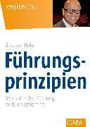 Cover-Bild zu Führungsprinzipien (eBook) von Buhr, Andreas