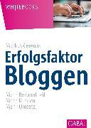 Cover-Bild zu Erfolgsfaktor Bloggen (eBook) von Cerenak, Markus