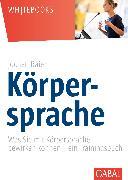 Cover-Bild zu Körpersprache (eBook) von Baier, Jochen