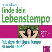 Cover-Bild zu Finde dein Lebenstempo (Audio Download) von Schuseil, Petra
