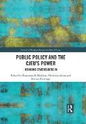 Cover-Bild zu Public Policy and the CJEU's Power (eBook) von Mathieu, Emmanuelle (Hrsg.)