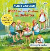 Cover-Bild zu Mehr von uns Kindern aus Bullerbü von Lindgren, Astrid