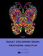 Cover-Bild zu Adult Coloring Book: Feathers and Fur vol. 1 von Books, Creativ