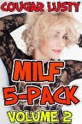 Cover-Bild zu Milf 5-Pack (eBook) von Lusty, Cougar