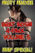 Cover-Bild zu Brat BDSM 4-pack (eBook) von Maiden, Misty