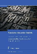 Cover-Bild zu Translation - Linguistik - Semiotik (eBook) von Schreiber, Michael (Hrsg.)