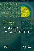 Cover-Bild zu What is Fundamental? (eBook) von Foster, Brendan (Hrsg.)