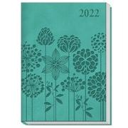 Cover-Bild zu Trötsch Taschenkalender A6 Daily Blumen 2022