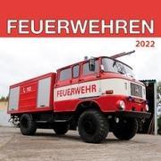 Cover-Bild zu Trötsch Broschürenkalender Feuerwehren 2022