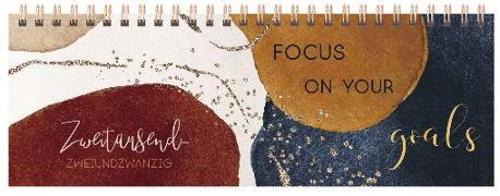Cover-Bild zu Tischquerkalender Goals 2022