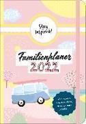 Cover-Bild zu Mini Familienplaner 2022 für die Handtasche für bis zu 5 Personen in DIN B6