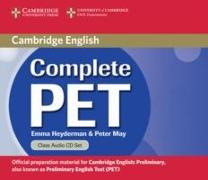 Cover-Bild zu Complete PET. Class Audio CD von Heyderman, Emma