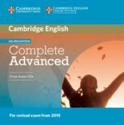 Cover-Bild zu Cambridge English Complete Advanced. Class Audio CDs von Brook-Hart, Guy