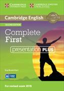 Cover-Bild zu Cambridge English. Complete First. Presentation Plus von Brook-Hart, Guy