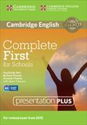 Cover-Bild zu Complete First for Schools Presentation Plus DVD-ROM von Brook-Hart, Guy