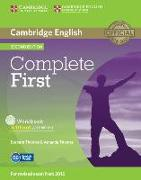 Cover-Bild zu Complete First. Workbook without answers von Thomas, Barbara