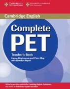 Cover-Bild zu Complete PET. Teacher's Book von Heyderman, Emma