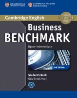 Cover-Bild zu Business Benchmark Upper Intermediate BULATS Student's Book von Brook-Hart, Guy