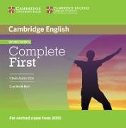 Cover-Bild zu Complete First. Class Audio-CDs von Brook-Hart, Guy