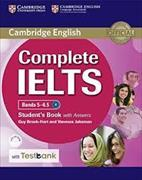 Cover-Bild zu Complete IELTS Bands 5-6.5 Student's Book with Answers with CD-ROM with Testbank von Brook-Hart, Guy