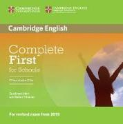 Cover-Bild zu Complete First for Schools. Class Audio CDs von Brook-Hart, Guy