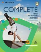 Cover-Bild zu Complete First for Schools Student's Book without Answers with Online Workbook von Brook-Hart, Guy