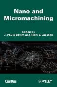 Cover-Bild zu Davim, J. Paul: Nano and Micromachining