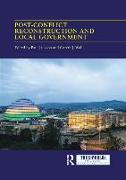 Cover-Bild zu Jackson, Paul (Hrsg.): Post-conflict Reconstruction and Local Government
