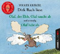 Cover-Bild zu Olaf, der Elch, Olaf taucht ab, Olaf hebt ab