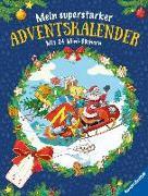 Cover-Bild zu Mein superstarker Adventskalender