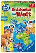 Cover-Bild zu Ravensburger 24990 - Entdecke die Welt - Spielen und Lernen für Kinder, Lernspiel für Kinder von 5-10 Jahren, Spielend Neues Lernen für 2-4 Spieler von Baars, Gunter