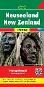 Cover-Bild zu Neuseeland, Autokarte 1:700.000. 1:700'000