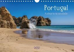 Cover-Bild zu Portugal . A alegria na saudade (Wandkalender 2021 DIN A4 quer) von G. Zucht, Peter