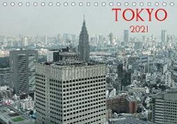 Cover-Bild zu Tokyo (Tischkalender 2021 DIN A5 quer) von G. Zucht, Peter