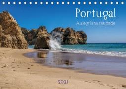 Cover-Bild zu Portugal . A alegria na saudade (Tischkalender 2021 DIN A5 quer) von G. Zucht, Peter
