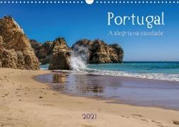 Cover-Bild zu Portugal . A alegria na saudade (Wandkalender 2021 DIN A3 quer) von G. Zucht, Peter