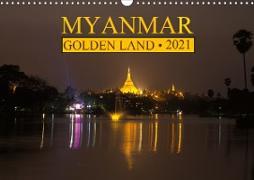 Cover-Bild zu Myanmar . Golden Land (Wall Calendar 2021 DIN A3 Landscape) von G. Zucht, Peter