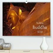 Cover-Bild zu Asiens Buddha (Premium, hochwertiger DIN A2 Wandkalender 2021, Kunstdruck in Hochglanz) von G. Zucht, Peter