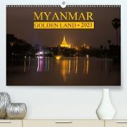 Cover-Bild zu Myanmar . Golden Land (Premium, hochwertiger DIN A2 Wandkalender 2021, Kunstdruck in Hochglanz) von G. Zucht, Peter