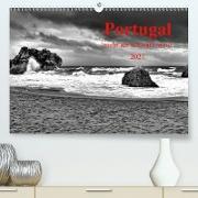 Cover-Bild zu Portugal . mehr als schwarz-weiß (Premium, hochwertiger DIN A2 Wandkalender 2021, Kunstdruck in Hochglanz) von G. Zucht, Peter