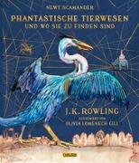 Cover-Bild zu Phantastische Tierwesen und wo sie zu finden sind (vierfarbig illustrierte Schmuckausgabe) von Rowling, J.K.