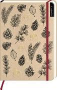 Cover-Bild zu myNOTES Notizbuch A5: Waldmuster