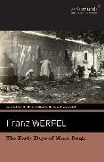 Cover-Bild zu Werfel, Franz: The Forty Days of Musa Dagh