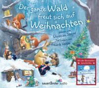 Cover-Bild zu Der ganze Wald freut sich auf Weihnachten von Bright, Paul