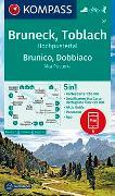 Cover-Bild zu KOMPASS Wanderkarte Bruneck, Toblach, Hochpustertal, Brunico, Dobbiaco, Alta Pusteria. 1:50'000