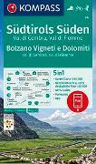 Cover-Bild zu KOMPASS Wanderkarte Südtirols Süden, Bolzano Vigneti e Dolomiti, Val di Cembra, Val di Fiemme. 1:50'000
